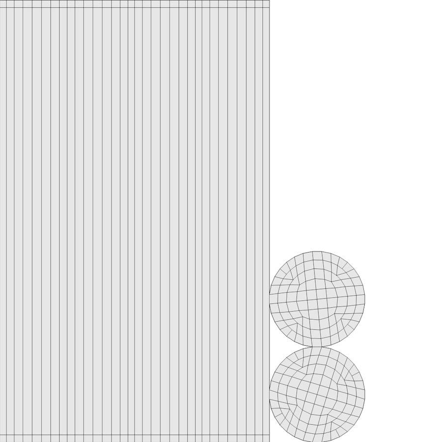 スチームパンクなテーブルランプ royalty-free 3d model - Preview no. 21