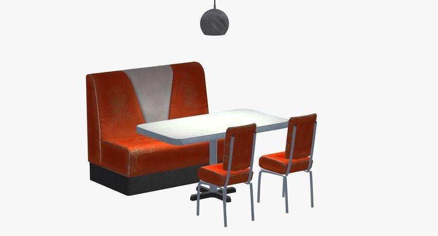 Set da pranzo royalty-free 3d model - Preview no. 5