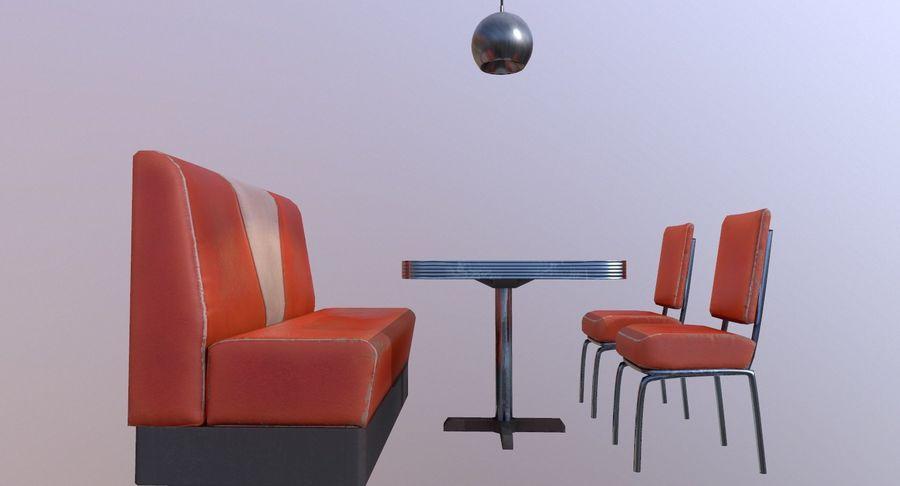 Set da pranzo royalty-free 3d model - Preview no. 12
