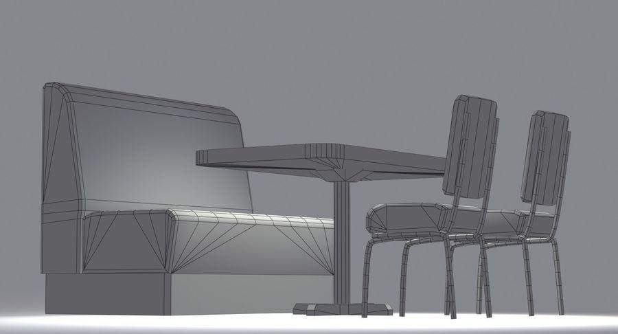 Set da pranzo royalty-free 3d model - Preview no. 14