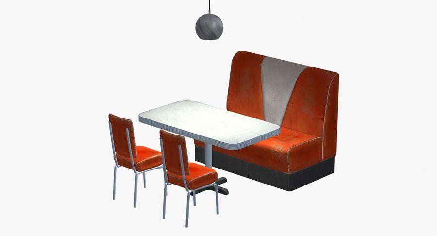 Set da pranzo royalty-free 3d model - Preview no. 3