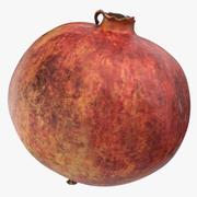 Pomegranate 02 3d model