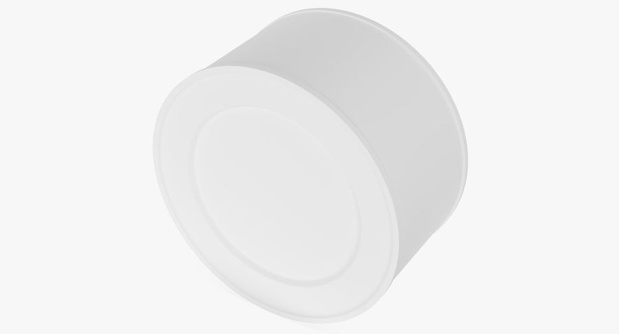 Food Can 200g royalty-free 3d model - Preview no. 17
