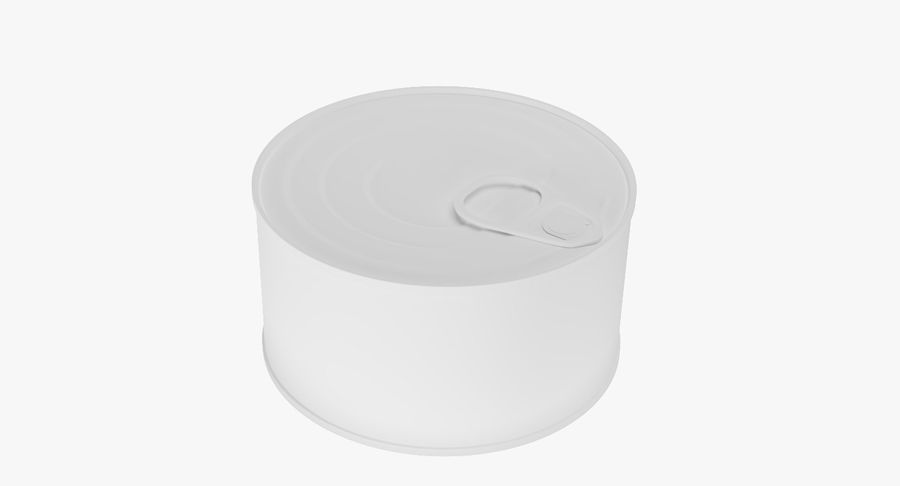 Food Can 200g royalty-free 3d model - Preview no. 13