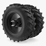 Good Year Tractor Twin Tire 3d model
