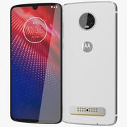 Motorola Moto Z4 Blanc 3d model