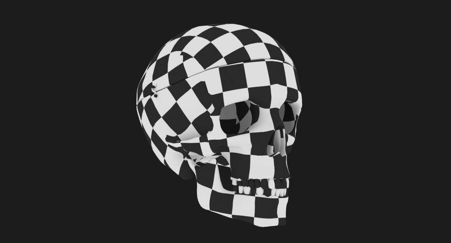 Modèle anatomique de crâne royalty-free 3d model - Preview no. 19