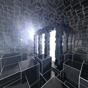 Strange Futuristic Greeble Reactor 3d model