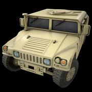 HUMVEE M1045 MILITARY POLICE 3d model