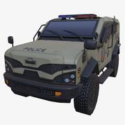Araç zırhlı toz swat 3d model