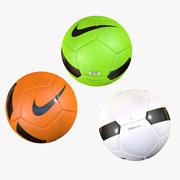Nike Pitch Team Soccer Ball Colors 3d model