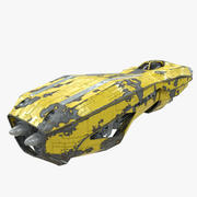 Sci-Fi Hover Speeder 3d model