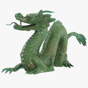 Jade Dragon 3d model