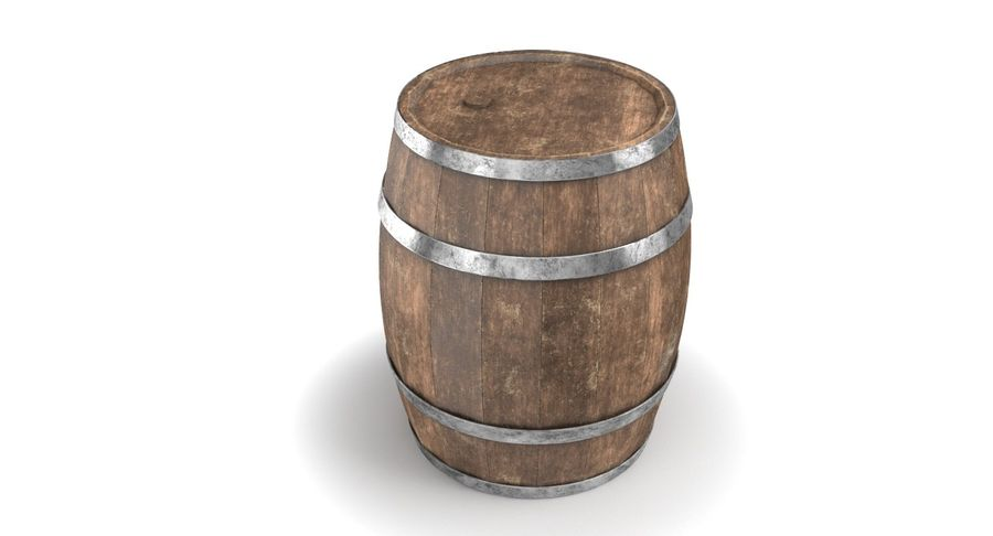 Market Stall royalty-free 3d model - Preview no. 14