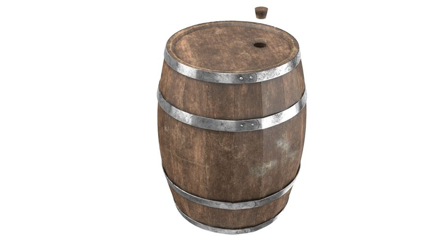 Market Stall royalty-free 3d model - Preview no. 10