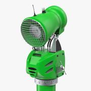 Modelo 3D de arma de neve verde 3d model