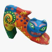 Deco Cat 3d model