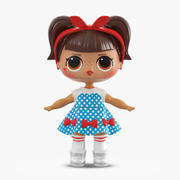 LOL Doll Dressed 3d model