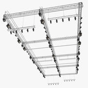 Roof Mounted Stage Lights 3d model