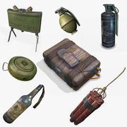 Explosive Device PBR 3d model