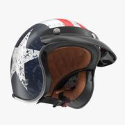 Estrela de rebelde do capacete da motocicleta de TORC 3d model
