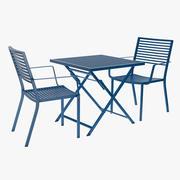 Zestaw patio w stylu bistro 3d model