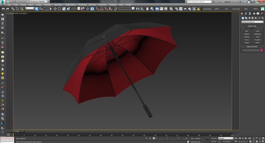 Umbrella Open royalty-free 3d model - Preview no. 20