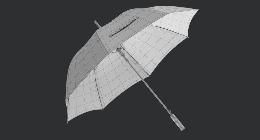 Umbrella Open royalty-free 3d model - Preview no. 13