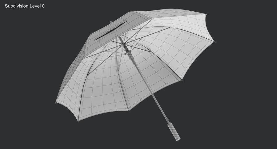 Umbrella Open royalty-free 3d model - Preview no. 11