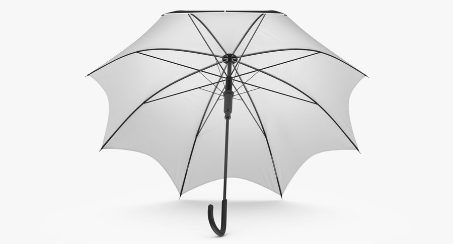 Umbrella Open 3 royalty-free 3d model - Preview no. 6