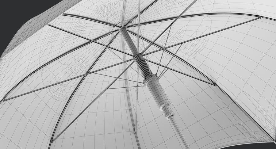 Umbrella Open 3 royalty-free 3d model - Preview no. 20