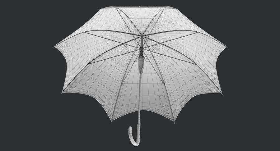 Umbrella Open 3 royalty-free 3d model - Preview no. 16