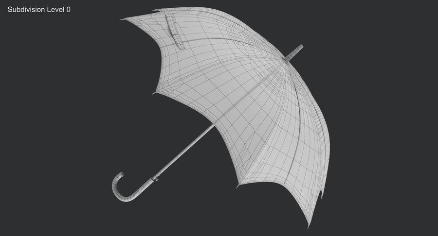 Umbrella Open 3 royalty-free 3d model - Preview no. 12