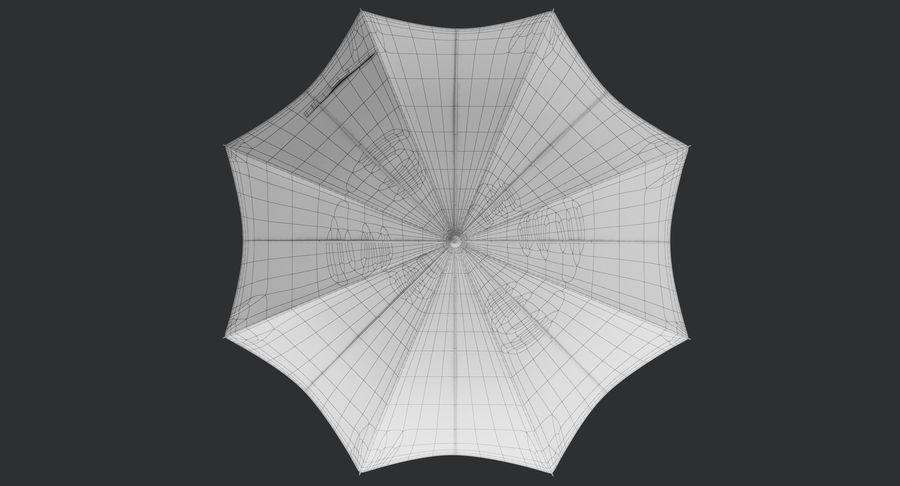 Umbrella Open 3 royalty-free 3d model - Preview no. 18