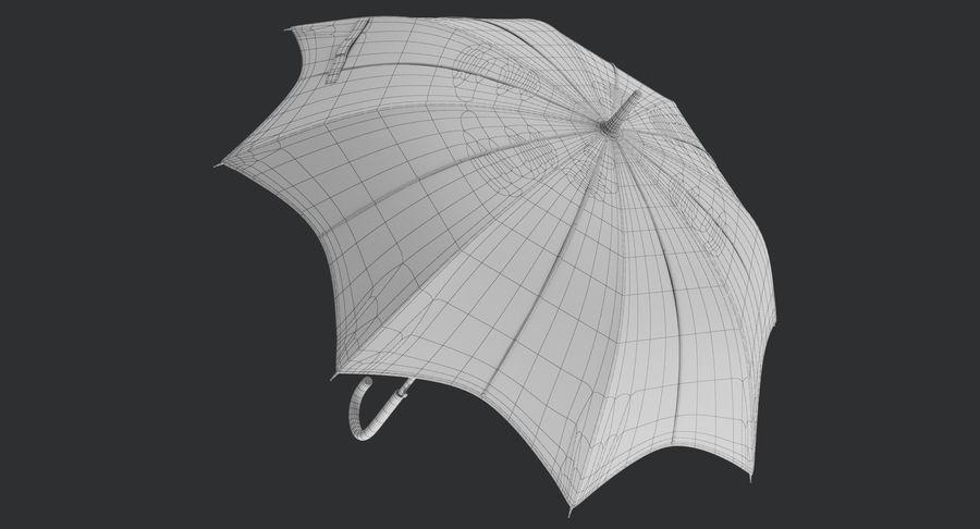 Umbrella Open 3 royalty-free 3d model - Preview no. 15