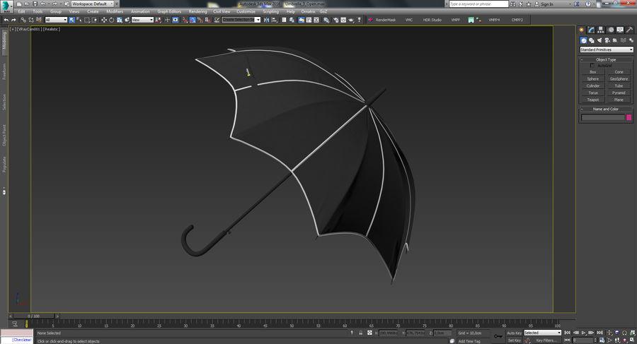 Umbrella Open 3 royalty-free 3d model - Preview no. 23