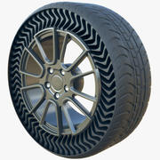 Michelin Uptis Airless Future Tire 3d model
