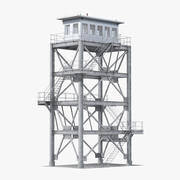 Смотровая башня 3d model
