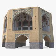 페르시아 빌딩 3d model