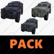 PACCHETTO ARMATO DA AUTO 3d model