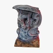 Statuetka Kamiennego Smoka 3d model