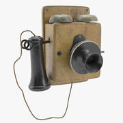 Telefono Kellogg vintage 3d model