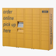 Amazon Parcels and Locker modelo 3d