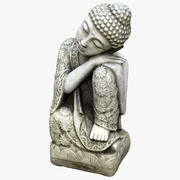 Buddha Statue Sleeping 3d model