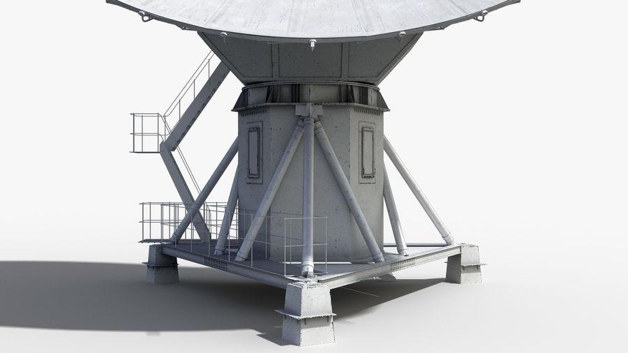 Antenna parabolica royalty-free 3d model - Preview no. 8