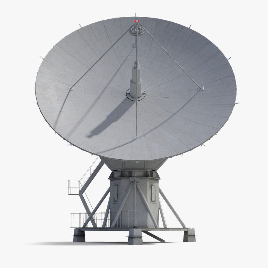 Antenna parabolica royalty-free 3d model - Preview no. 1