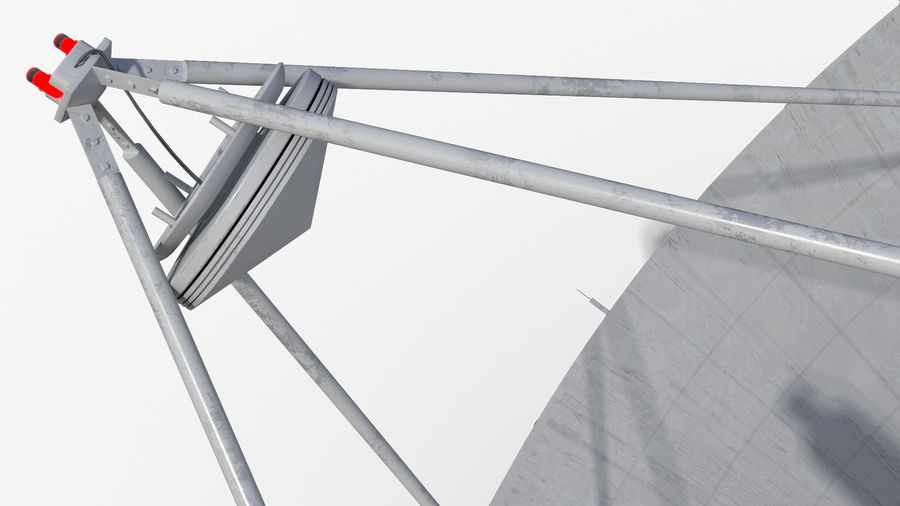 Antenna parabolica royalty-free 3d model - Preview no. 11