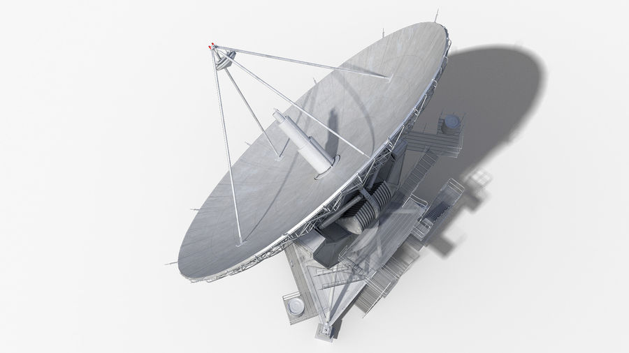 Antenna parabolica royalty-free 3d model - Preview no. 10