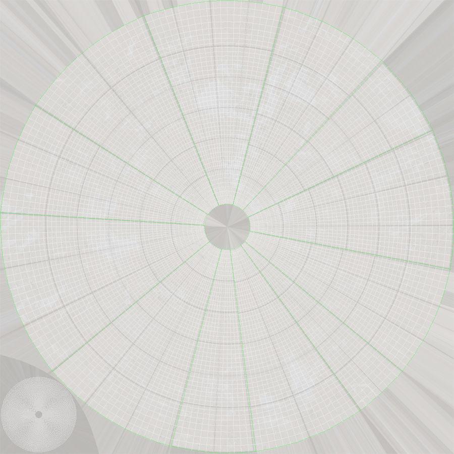 Antenna parabolica royalty-free 3d model - Preview no. 14