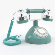 Vintage Princess Phone 3d model